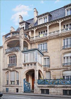Maison Biet à Nancy © dalbera