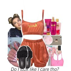 I'll teach you how to jugg with me by baby-wavy on Polyvore featuring polyvore, fashion, style, Roses Are Red, Puma, Victoria's Secret and clothing