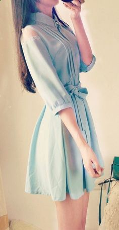 This dress+ neon necklace+ cross body bag= playful  This dress+ elegant statement necklace+nude shoes= casualy sophisticated