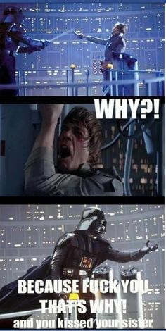 One of the greatest plot twists in film history. Also makes for a lot of hilarious jokes.