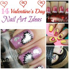 Whether you're searching for Valentines Day nails to impress your honey, or just some cute Valentines Day nail art ideas to keep you busy on a cold wintery day, I've got ya covered! After completin...