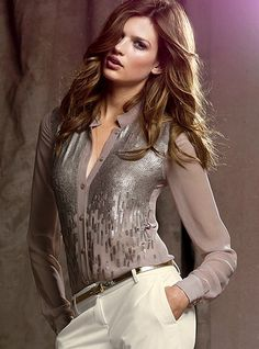 From: http://www.victoriassecret.com/clothing/shine-on/sequin-blouse?ProductID=68609=OLS