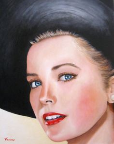Gorgeous painting 'Grace Kelly' by Venus - artsrow.com artist.
