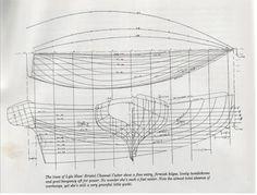 Designing a 7 ton cutter Bristol Channel, Model Boat Plans, Wood Boat Plans, Wooden Boat Building, Love Boat, Boat Design, Wooden Boats, Tall Ships, Model Ships