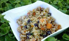 Black Bean and Butternut Quinoa