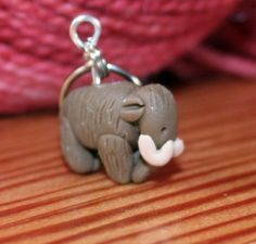 Woolly Mammoth Stitch Markers (herd of 4)