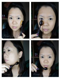 how to use MAC Oval 6 brush! review up on the blog :D