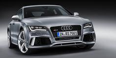 """That'll be a family car with a side-order of """"I'm not going to wade into middle-aged langour without a fight"""", with extra vim and vigour on top. [Audi RS7]"""