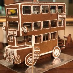 Presenting the annual Harry Potter gingerbread house The Knight Bus! Made with a lot of love and a little magic😉 . Christmas Goodies, Christmas Desserts, Christmas Baking, Christmas Time, Harry Potter Friends, Harry Potter Decor, Gingerbread Village, Christmas Gingerbread House, Harry Potter Christmas Tree