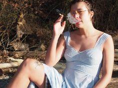Seattle model Sophia (@sozimso) for multimedia art brand Feminist Fatal.  Tumblr Models, Instagram Models, Tumblr Cigarettes