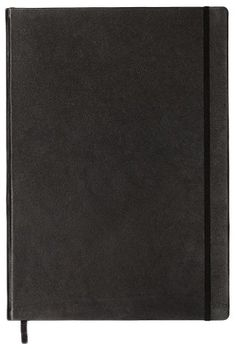 Leuchtturn1917 330569 Notebook Master (A4+), Black leather cover, 233 numbered pages, £59.42