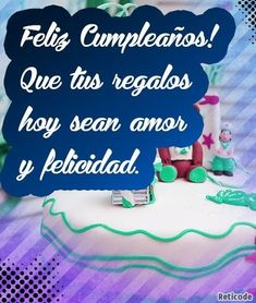 Birthday Cake, Desserts, Food, Happiness, Presents, Tailgate Desserts, Deserts, Birthday Cakes, Essen