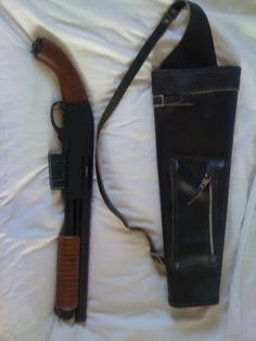 CA Sawed off shotgun Doomsday Survival, Firearms, Shotguns, Pump Action Shotgun, Tactical Accessories, Cool Guns, Awesome Guns, Outdoor Survival Gear, Weapon Storage