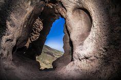 Yacimiento de la Cueva del Gigante en Agüimes