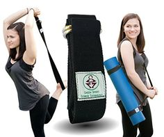 Perfect Yoga Strap  6 Feet  Holds Your Yoga Mat In Place  Go Green with Eco Friedly Limitless Yoga Stretch Strap  100 >>> Visit the image link more details.  This link participates in Amazon Service LLC Associates Program, a program designed to let participant earn advertising fees by advertising and linking to Amazon.com.