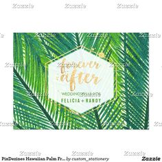 PixDezines Hawaiian Palm Fronds/DIY Background
