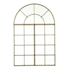 """3 Piece Grand Palais Mirror   Ballard Designs Dimensions: Set Overall: 72""""H X 48""""W X 1 3/4""""D Arch Piece: 24""""H X 48""""W Rectangle Pieces (2): 48""""H X 24""""W Each (these only hang vertically)"""