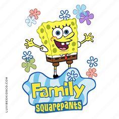 Spongebob Squarepants Iron On Transfer Design - Mom Birthday Party Decorations, Party Themes, Birthday Parties, Birthday Ideas, Party Ideas, Spongebob Shirt, Spongebob Birthday Party, Plush Pattern, Spongebob Squarepants