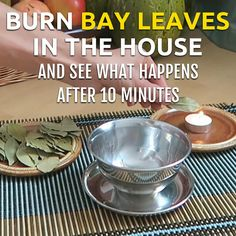 The smoke of the will make your mind and muscles feel more relaxed and you'll find it easier to focus on your task at hand. remedies Burn Bay Leaves in the House and See What Happens After 10 Minutes! Natural Health Remedies, Natural Cures, Natural Healing, Herbal Remedies, Holistic Remedies, Holistic Healing, Lemon Benefits, Coconut Health Benefits, Burning Bay Leaves