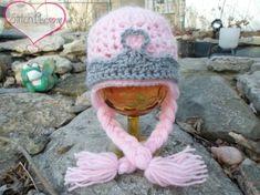 crochet princess beanies | Newborn-Crochet- Princess-Hat | crochet