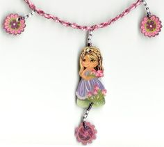 Shrink plastic jewelry for children