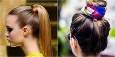 Muy buenas ideas de coletas con trensas, para rubias o morochas, con cabello corto o largo, tenemos muchas ideas para ti. Bella Hadid, Buenas Ideas, Hair Styles, Blog, Delaware, Beauty, Hairstyles For The Gym, New Hairstyles, Haircuts