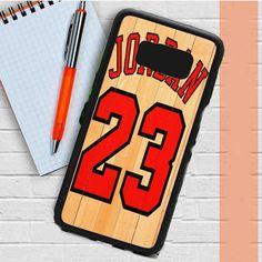 Michael Jordan 23 Basketball Samsung Galaxy S8 Case Dewantary