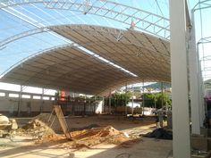BMCD - Estruturas Metálicas >> Obras >> Coberturas