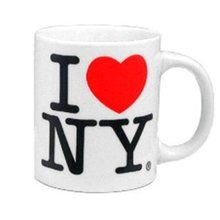 Classic I Love NY Mugs Displaying the classic ILNY logo on both sides, this classic I Love New York mug is a perfect gift for the NYC aficionado in your life. These popular New York mugs are the standard size at 11oz, and are available in black and white The more you buy, the cheaper they are (price adjusted automatically): Quantity Discounts Quantity Cost/Set 1 $5.50 12 $5.00 36 $4.00 100 $3.50 Our Classic I Heart NY mugs make great New York gifts. Support New York City - our I Love NY ...