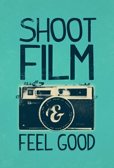 """Shoot Film"" Art Print by Victor Vercesi - $17"
