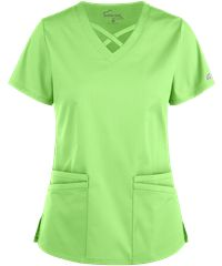Be fashionable and flexible all day long with the UA Butter-Soft STRETCH Criss Cross Scrub Top. Find great fashion scrub tops today, only at Uniform Advantage! Cute Nursing Scrubs, Cute Scrubs, Scrubs Outfit, Scrubs Uniform, Yoga Scrub Pants, Stylish Scrubs, Beauty Uniforms, Green Scrubs, Womens Scrubs