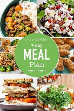 A free 7-day, flexible weight loss meal plan including breakfast, lunch and dinner and a shopping list. All recipes include calories and updated WW Smart Points. Weight Loss Meal Plan, Weight Watchers Meals, Weigth Watchers, Best Guacamole Recipe, 7 Day Meal Plan, Meal Prep, Cooking Recipes, Healthy Recipes, Skinny Recipes