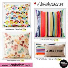 Usá este finde para descansar. ¡Infaltables tus almohadones de www.tiendadcm.com!  Encontralos en www.tiendadcm.com/products/list/brand/21076