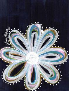 www.juliem.pro   Flower Power Art Printhttp://society6.com/product/flower-power-r98_print#1=45