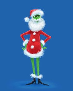 Le Grinch, The Grinch Movie, Grinch Stole Christmas, Christmas Wallpaper Iphone Cute, Xmas Wallpaper, Disney Drawings, Cartoon Drawings, Green Santa, Snoopy Images
