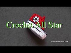 How to crochet All Star on shoes. Video tutorial how to make a badge Converse All Star on baby crochet sneakers. Fill free to share this video. Crochet Sole, Crochet Baby Booties, Crochet Slippers, Love Crochet, Diy Crochet, Crochet Baby Blanket Beginner, Baby Knitting, Baby Converse Shoes, Converse Style