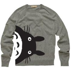 I need this totoro jumper!! Winter will be cold without it ^_^