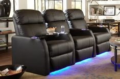 Home Theater Furniture, Home Theater Decor, At Home Movie Theater, Home Theater Rooms, Home Theater Design, Home Theater Seating, Cinema Room, Home Decor, Theater Seats