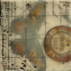 Encaustic Art - Nancy Crawford - With Love and Gratitude Series, encaustic collage, mixed media and encaustic http://www.nancycrawfordartist.com