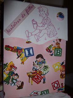 """Classeur """"Histoires de Filles"""" n°10 by DF"""