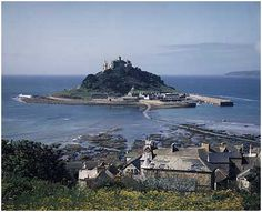 St Michael's Mount near St Ives, Cornwall, UK The Places Youll Go, Places To Go, St Michael's Mount, Cornwall England, Local Attractions, England And Scotland, St Ives, Vacation Places, Great Britain