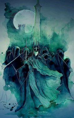 The Dark Lords' most terrible servants: The Nazgul.