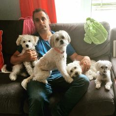 Joey and his dogs :)