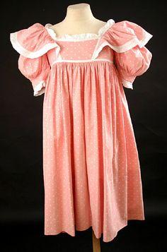 1900 Pink dress