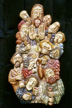 Last supper Lime wood hand carved relief sculpture Pictures To Draw, Art Pictures, Easter Prayers, Jesus Art, Jesus Christ, Hand Carved, Hand Painted, Life Of Christ, Biblical Art