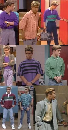 "Classic Zack. | The Ultimate Guide To ""Saved By The Bell"" Fashion"