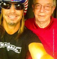 BretMichaels.com » A Salute To Service Tribute To Heroes – Bret's Military Family Photos