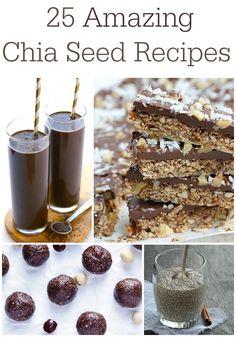 25 Amazing Chia Seed Recipes