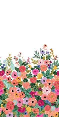 Flower Phone Wallpaper, Iphone Background Wallpaper, Image Deco, Whatsapp Wallpaper, Cute Patterns Wallpaper, Pretty Wallpapers, Floral Wallpapers, Rifle Paper Co, Flower Backgrounds