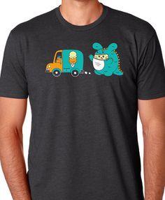 Come Back Men's T-shirt by Fat Rabbit Farm